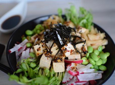 Spicy Tofu Poke Bowl