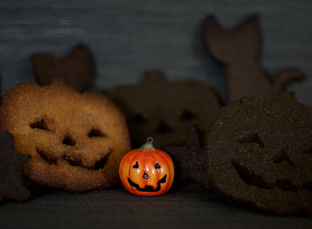 Sesame Flour & Molasses Biscuits (Vegan & Gluten-Free)
