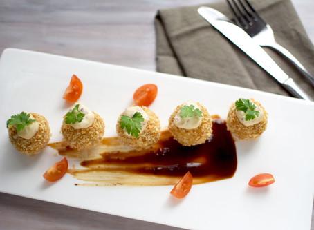 Potato Croquettes (Vegan, Non deep-frying)