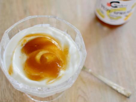 Yuzu Spread on Yogurt