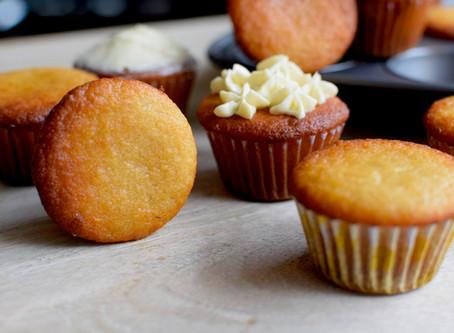 Yuzu Cupcakes (Vegan, Gluten-free)