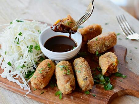Vegan Miso Potato Croquettes