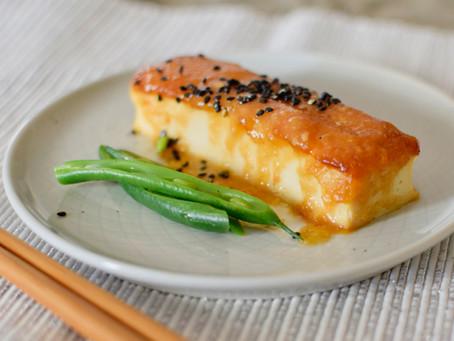 Yuzu Miso Tofu