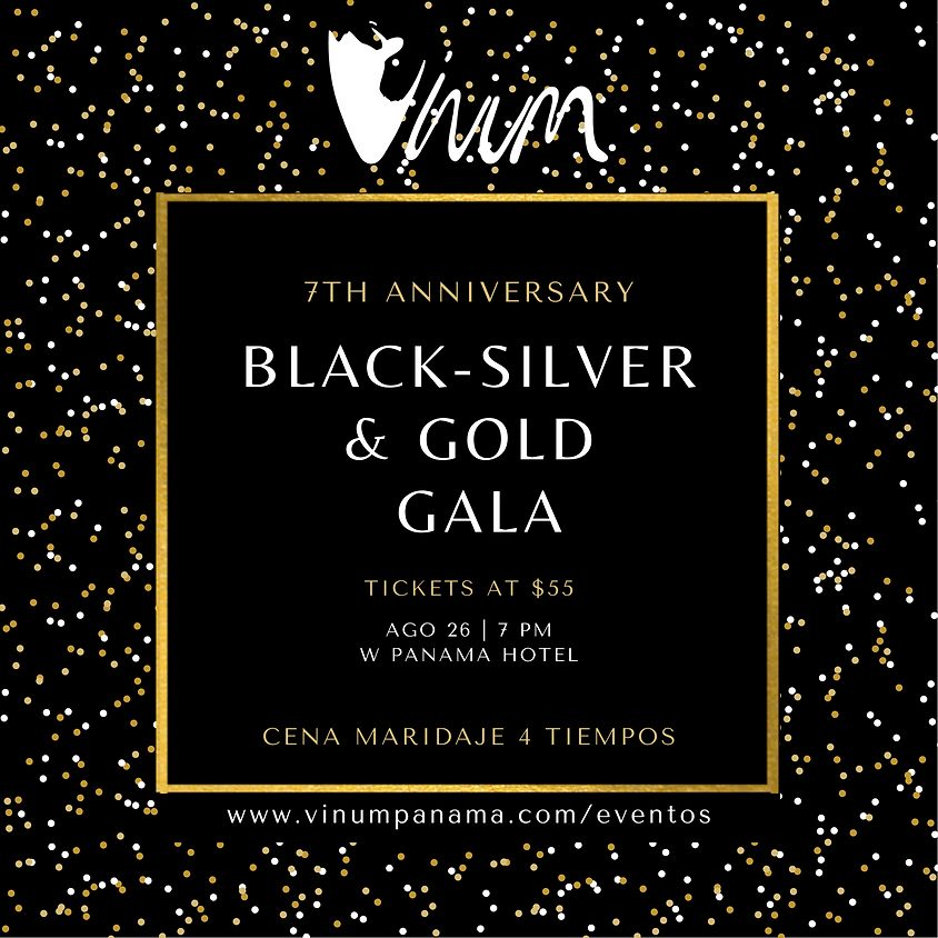 Black - Silver & Gold Gala