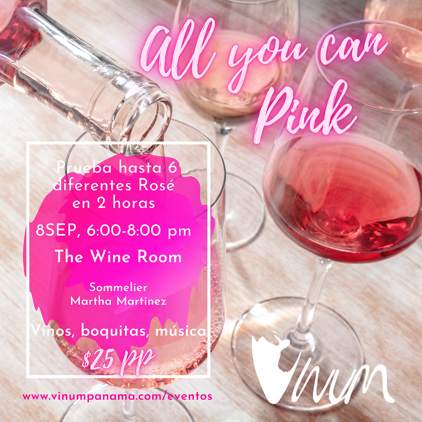 """Vinum """"All you can Pink"""""""