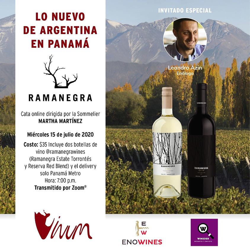 Cata de Vino y Charla con Ramanegra