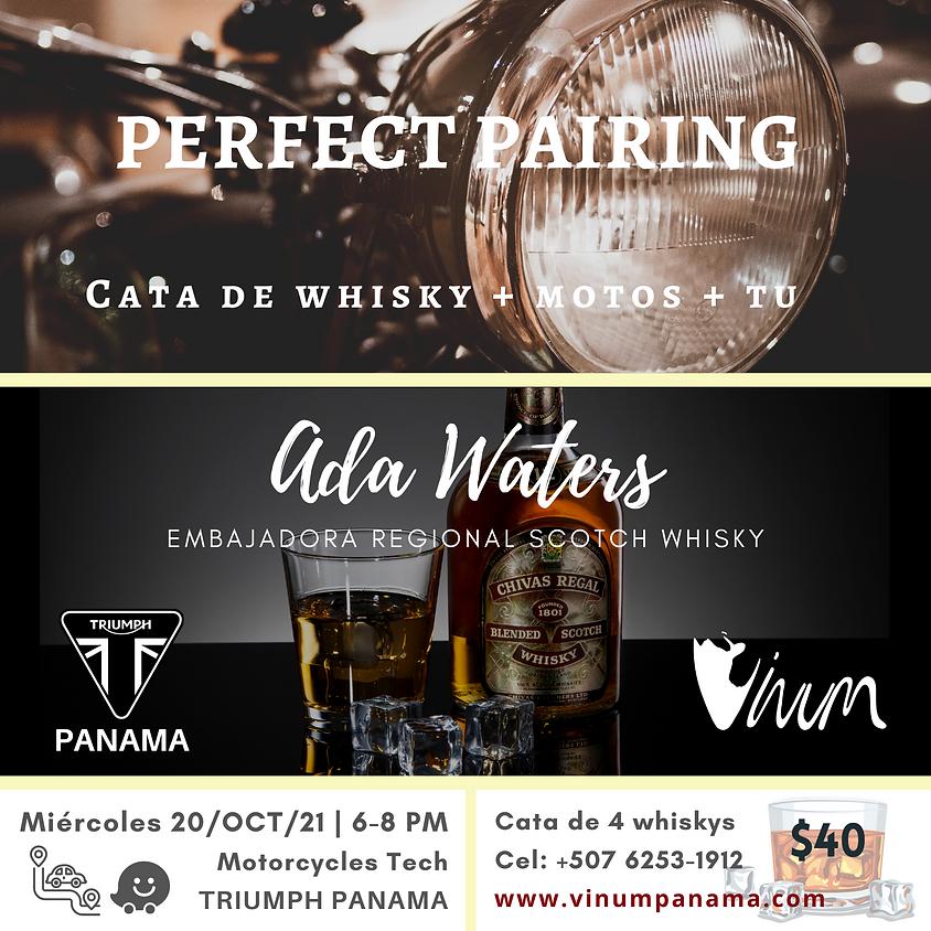 Cata de Whisky + Motos + Tu