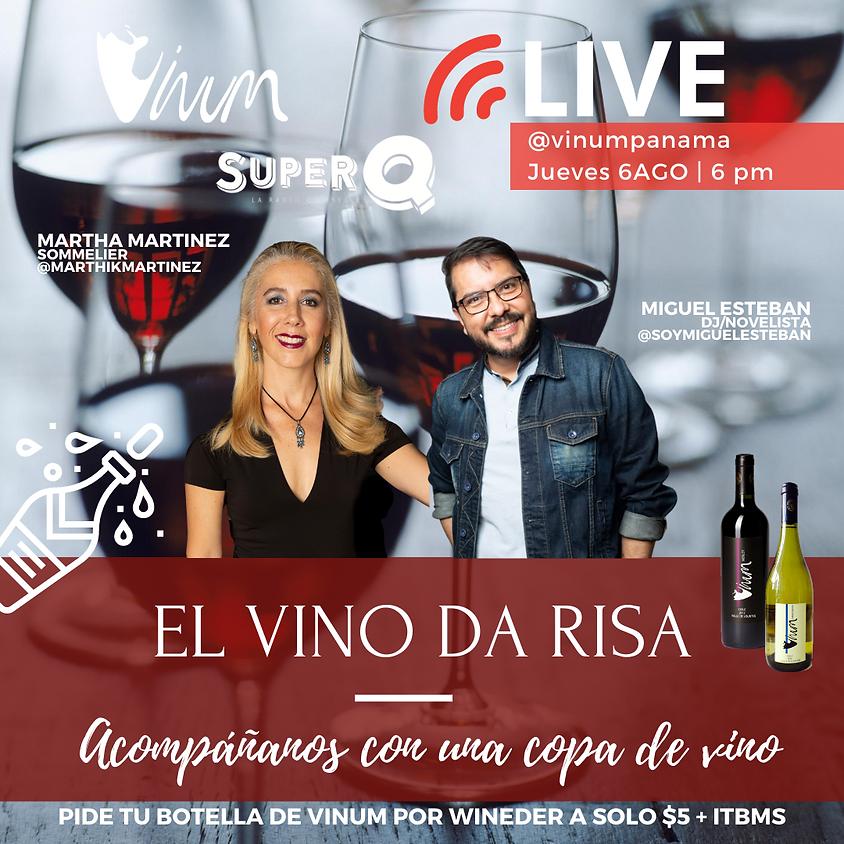 IG LIVE: El Vino da Risa