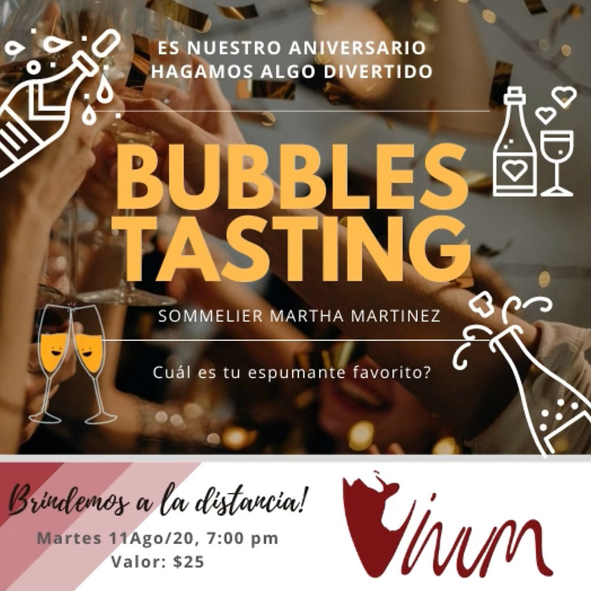 Bubbles Tasting - Vinum Anniversary