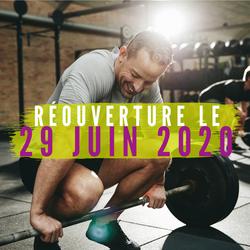 RÉOUVERTURE 2020 - 22/06/20