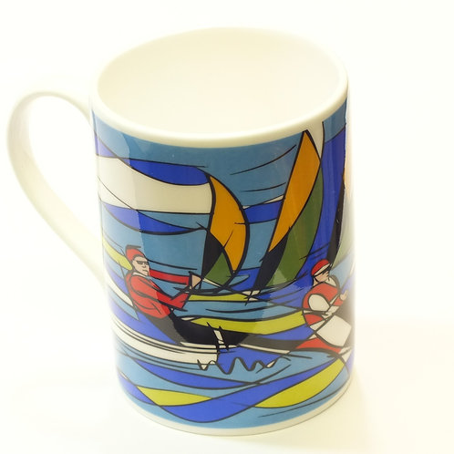 Sailing Bone China mug