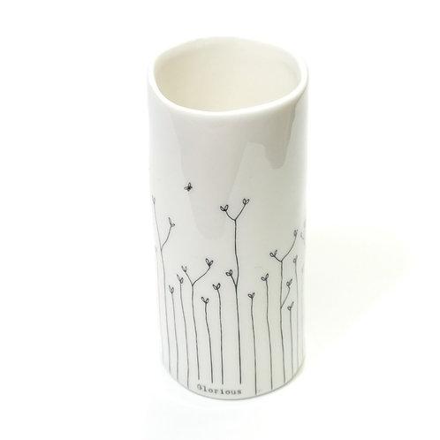 Porcelain Vase-Glorious