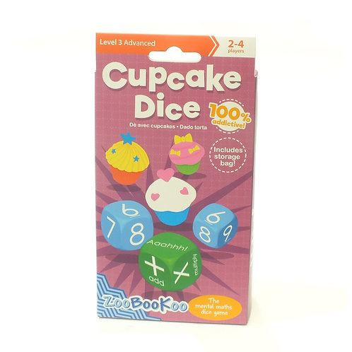Cup Cake Dice Level 3 (9+ years)