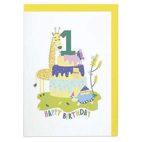 Giraffe - Age 1