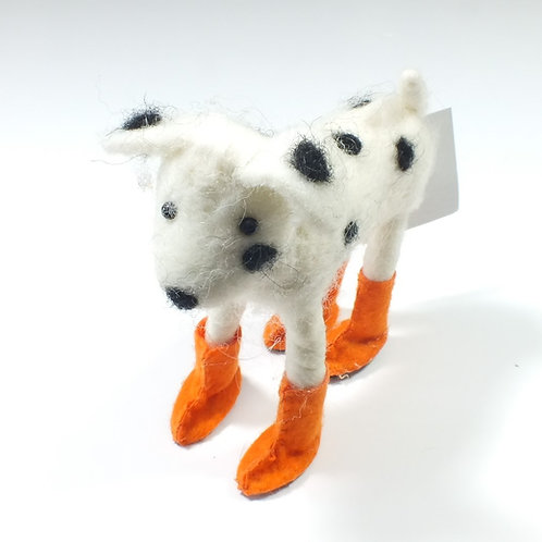 Felt Welly Dog