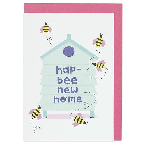 Hap-bee new home