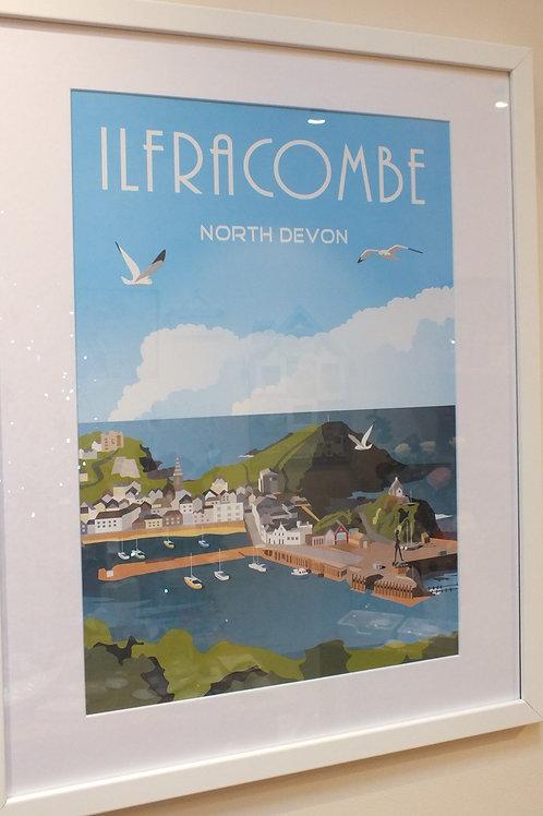 Ilfracombe Framed Poster