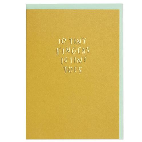 10 tiny fingers 10 tiny toes