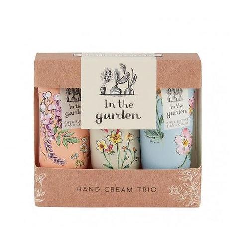 In The Garden Hand Creams 3x30ml