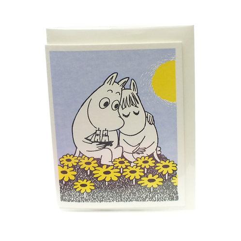 Moonin In Love Card