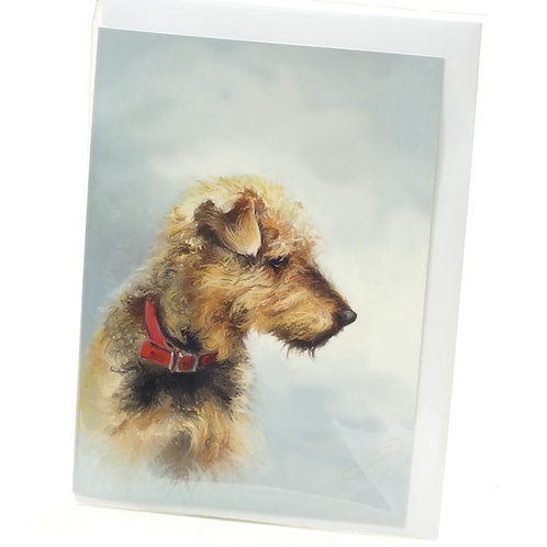 Airedale Terrier - Greeting Card