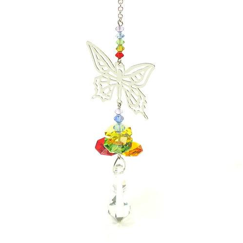 Crystal Fantasies Butterfly - Rainbow