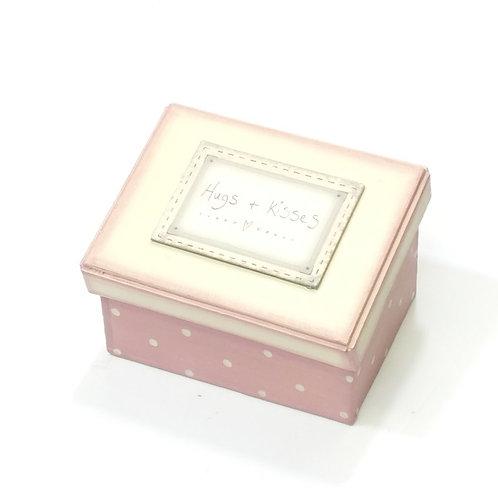 Pink blush box-Hugs & kisses