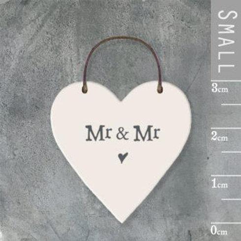 Little Heart Sign-Mr & Mr