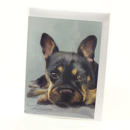 French Bulldog - Greeting Card