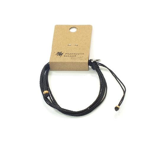 Multi Black Strand Bracelet
