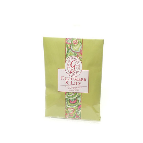 Cucumber Lily Scented Sachet