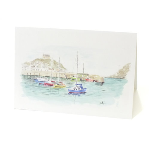 """June - """"Ilfracombe Harbour"""""""