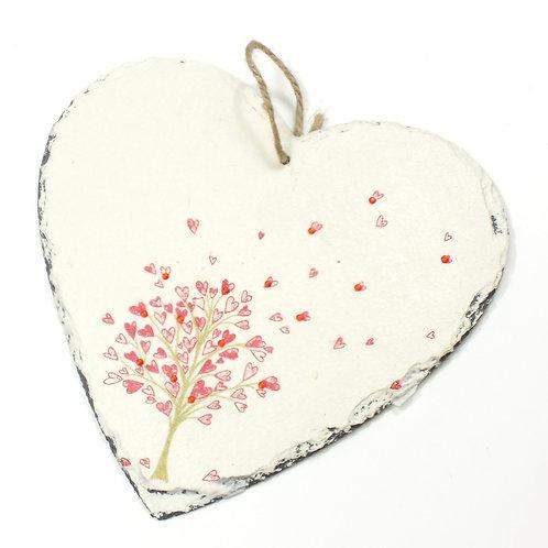 Tree of Hearts, Heart Slate