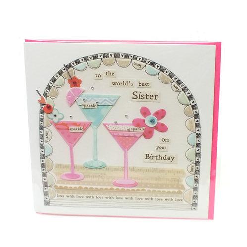 Sister Birthday - Card