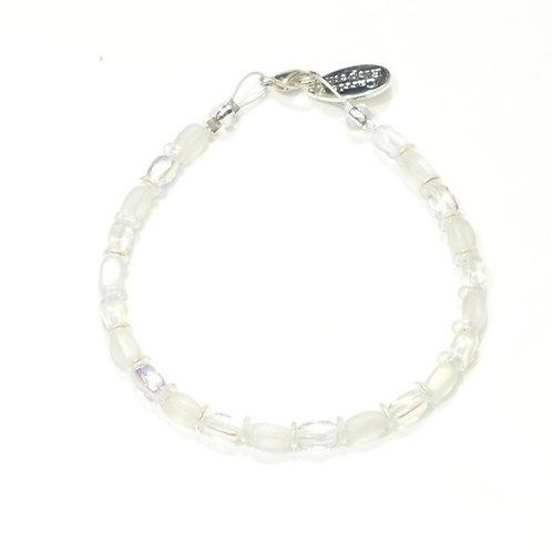White Bridal Bracelet
