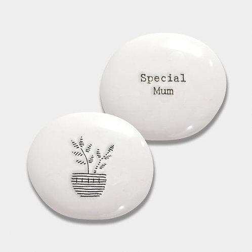 Porcelain Pebble-Special Mum
