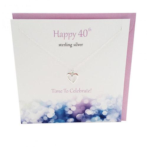 Happy Birthday pendant 40