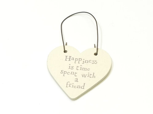 Little Heart Sign-Happiness is Time