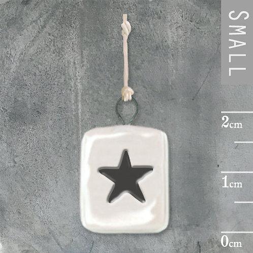 Porcelain Mini Hanger-Star