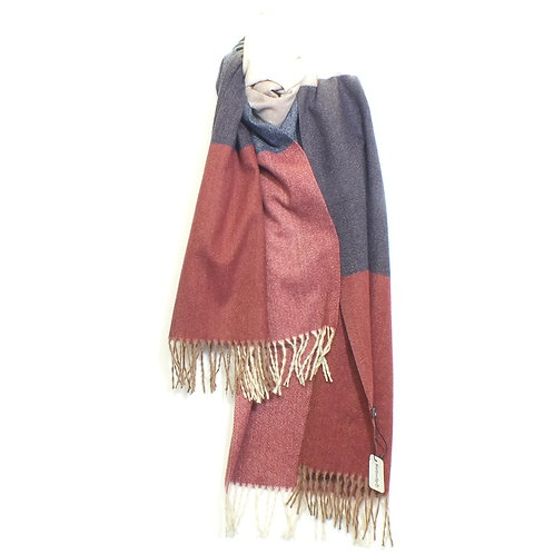 Scarf Cosy Winter Red