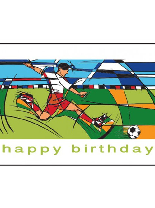 FOOTBALL PLAYER HAPPY BIRTHDAY CARDS