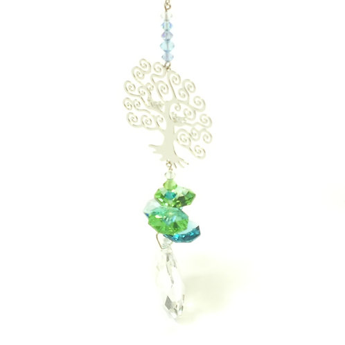 Crystal Fantasies Tree of Life - Green