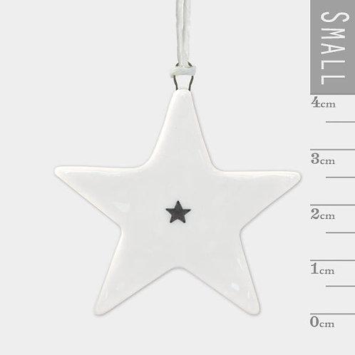 Porcelain Hanger-Small Star