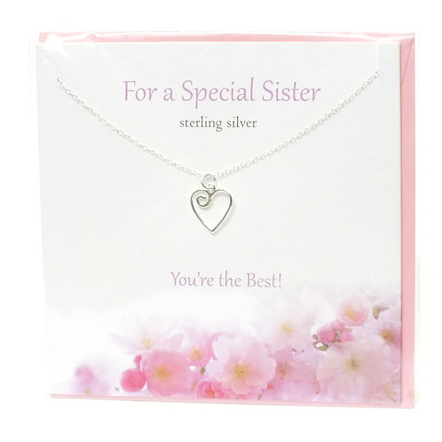 For A Special Sister Pendant
