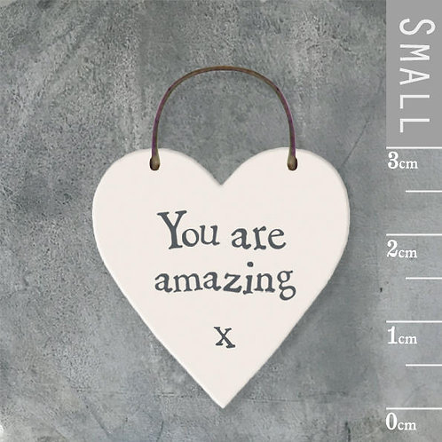 Little Heart Sign-You Are Amazing