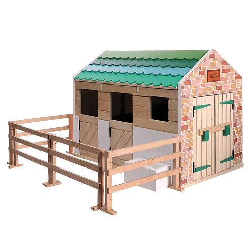 Stables Wooden Playset