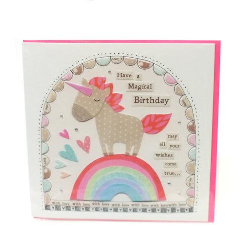 Birthday Unicorn - Card