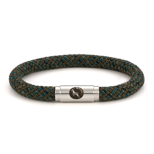 Rope Bracelet - Jungle - Middy with Magnetic Catch