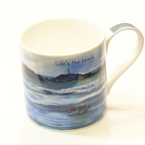 Mug And Box -Lifes The Beach