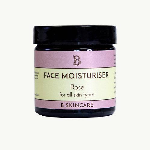 Face Moisturiser - Rose - 60ml